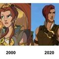 Teela's evolution