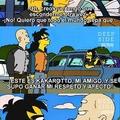 Crossover Simpsons y Dragonball