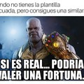 Pero si es Thanos Harrison