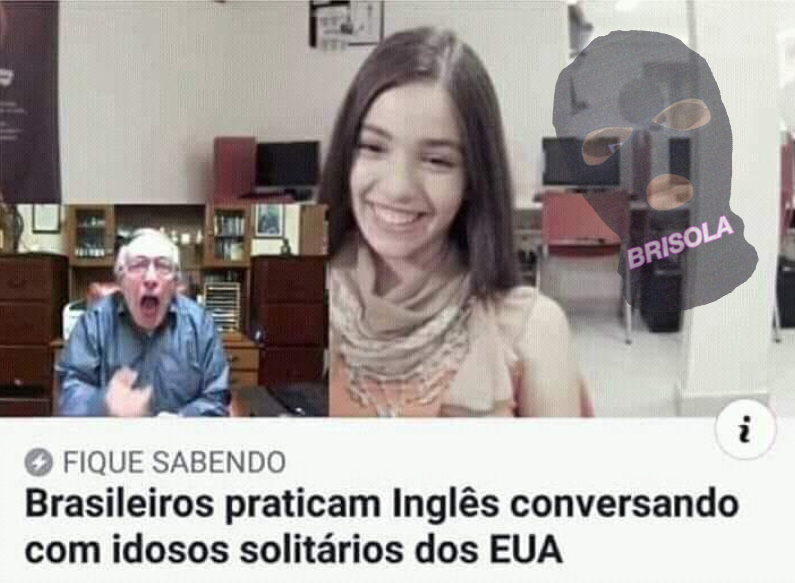 Olavo GANG - meme