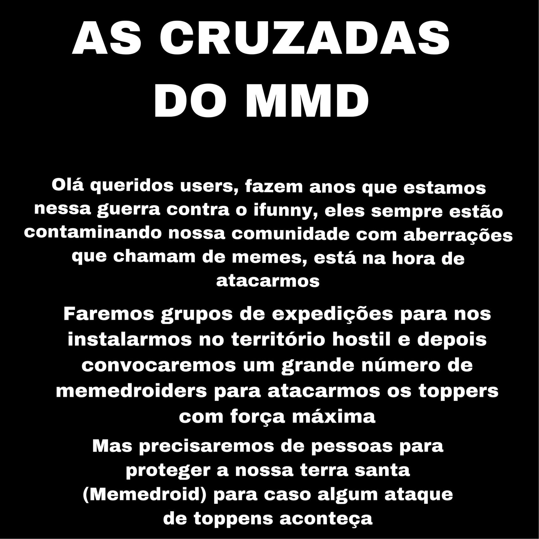 cruzadas do MMD pt1 - meme