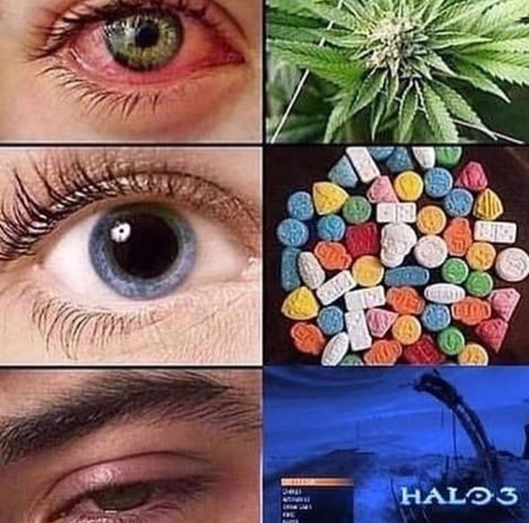 Halo 3 > Drugs - meme