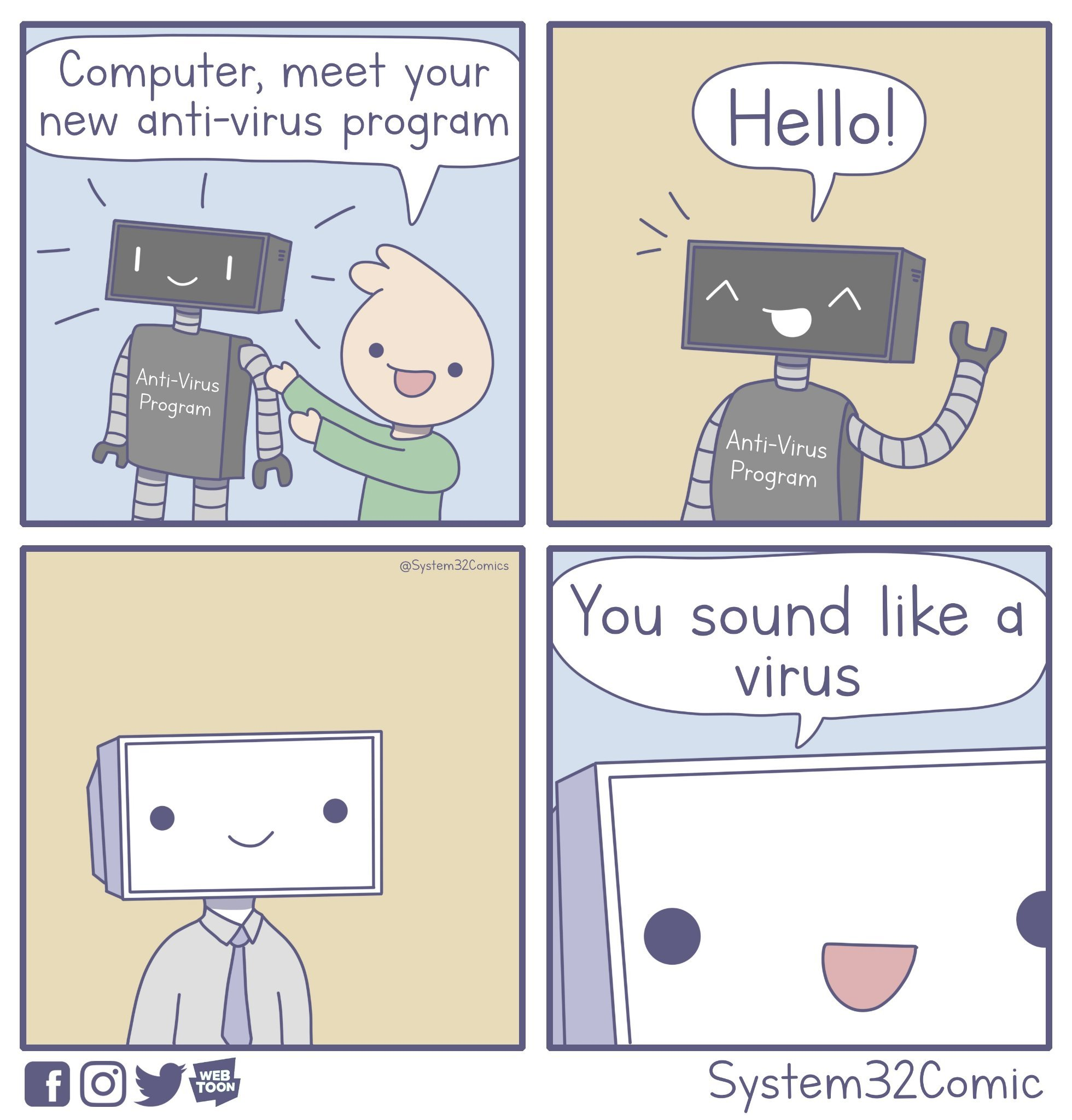 Anti-Virus Program - meme