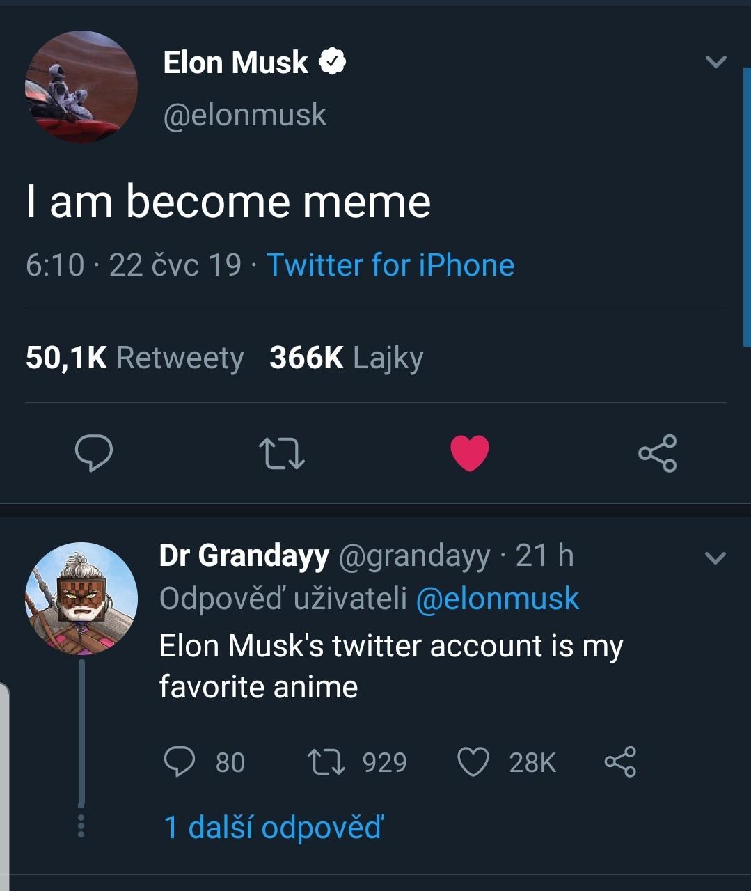 Elon musk anime  - meme