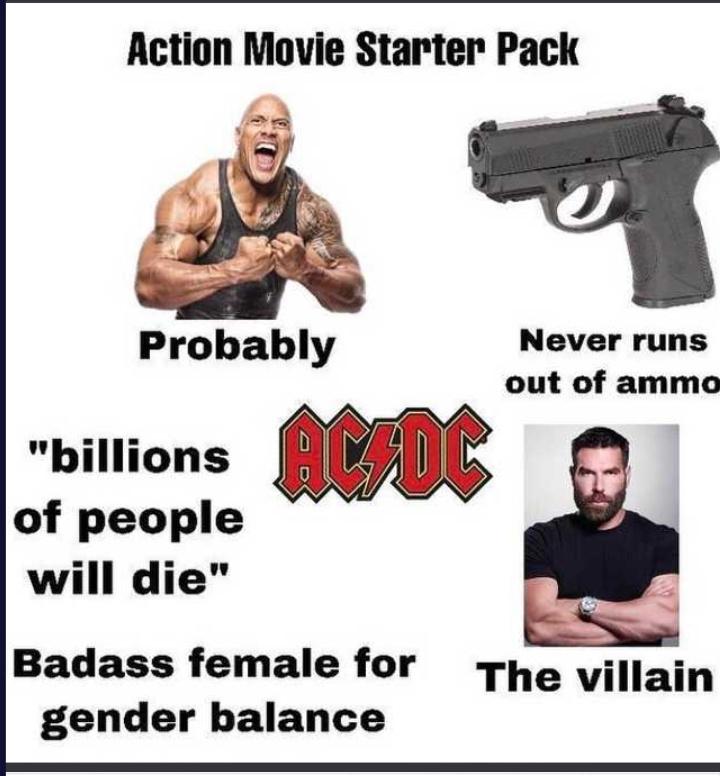 Lights camera action - meme