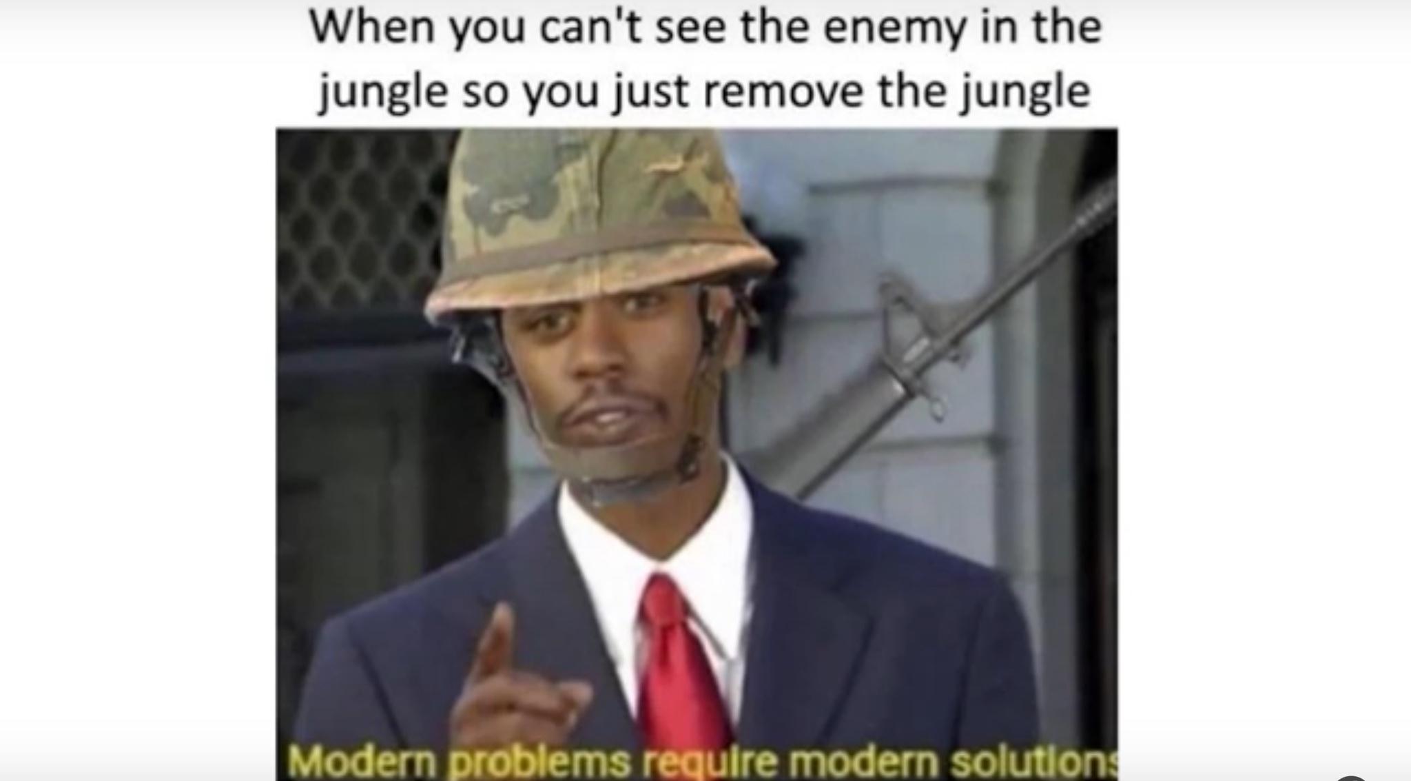 Modern Problems - meme
