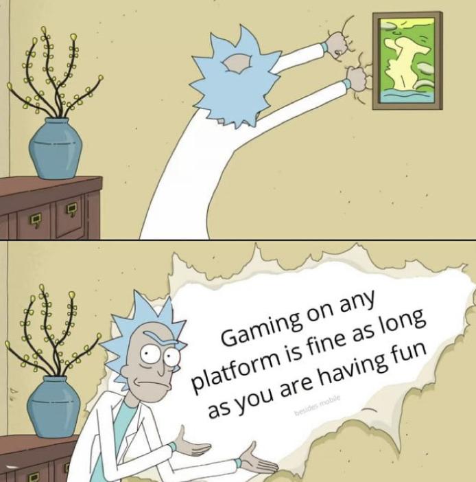 mobile sucks ass - meme