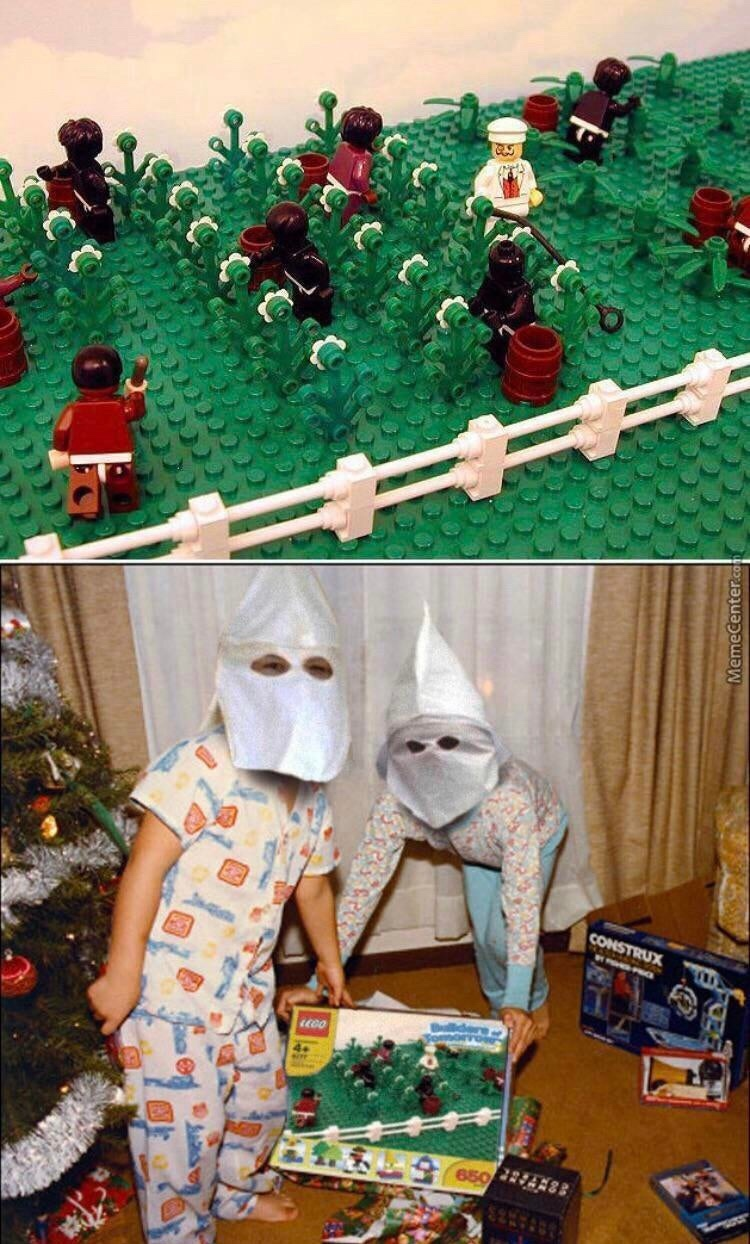 Lego Plantation - meme