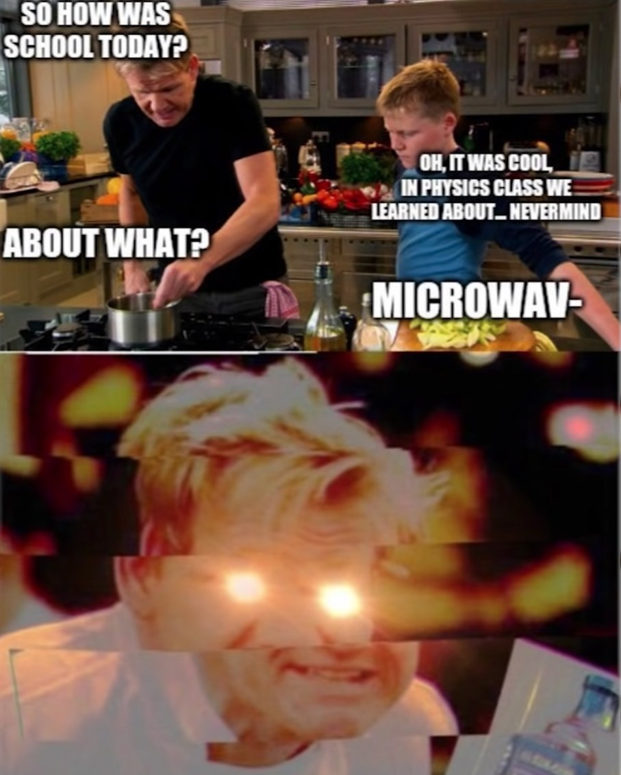 MICROWAVE??? - meme