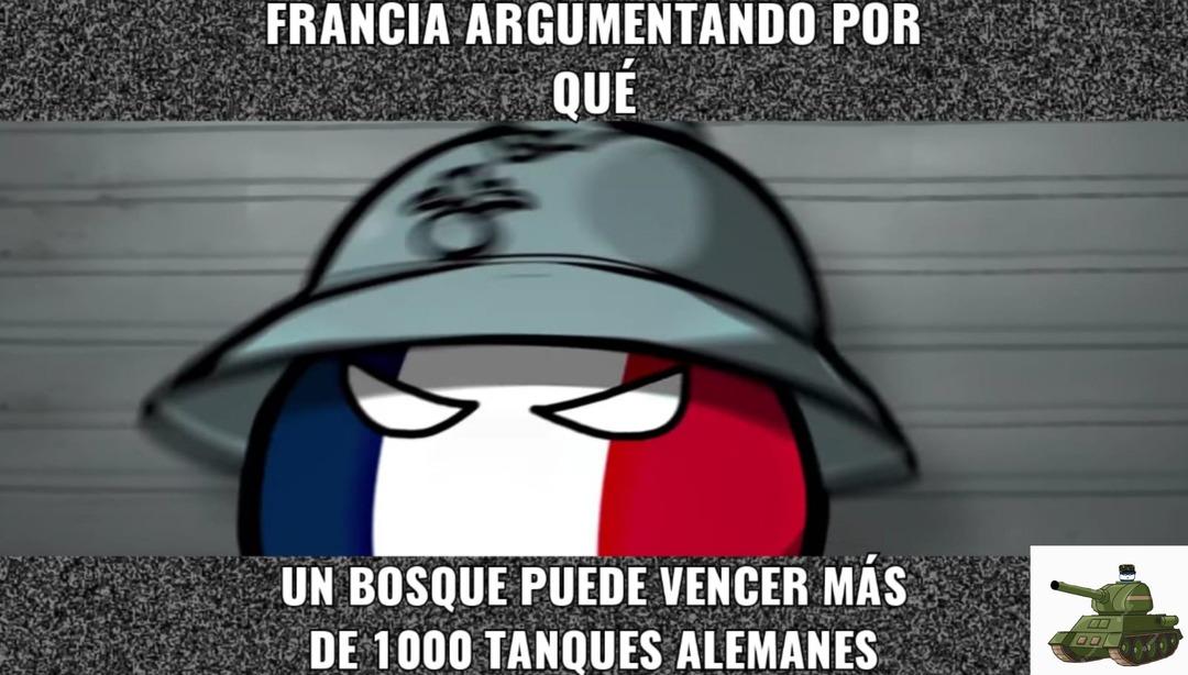 Porque francia pensó eso? - meme