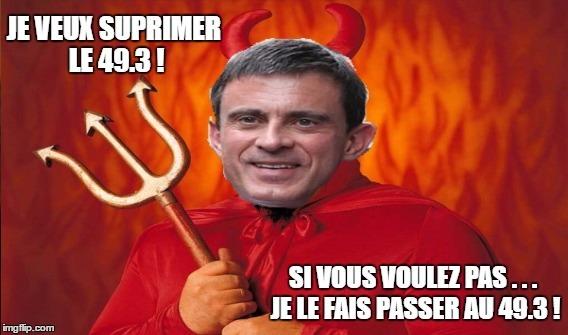 Valls et son meilleur ami..... - meme