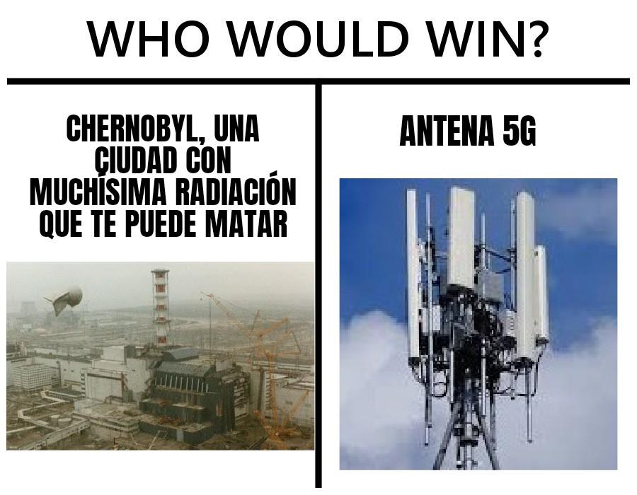 Yo creo que la antena 5g - meme