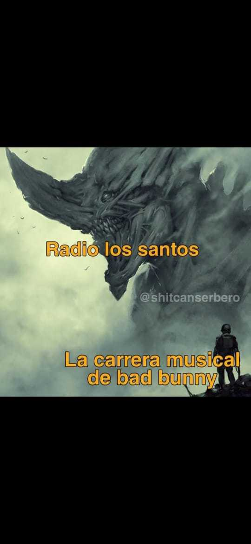 Radio éxitos - meme