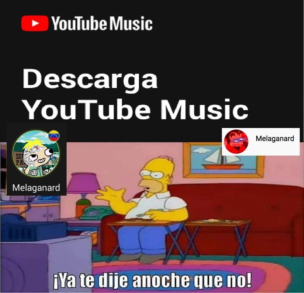 Deacarga youtube music - meme
