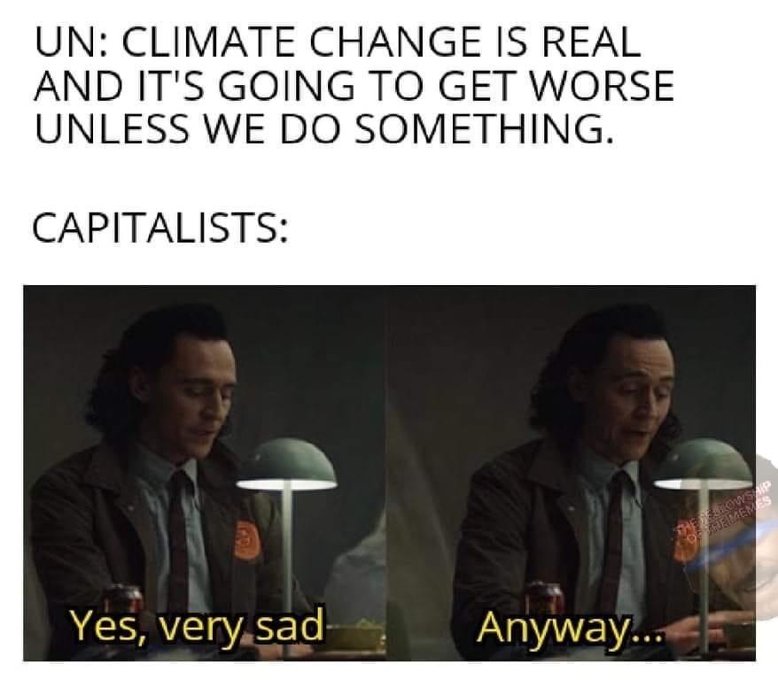 what about my profits - meme