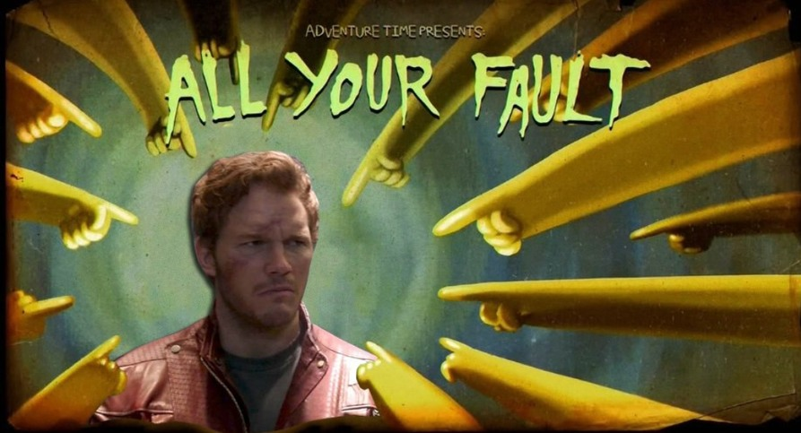 ALL YOUR FAULT - meme
