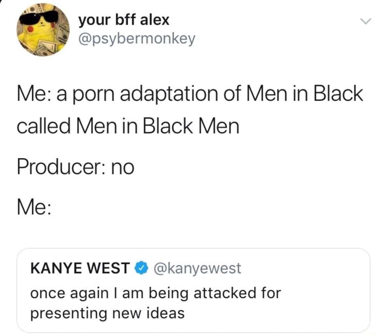 Men in Black porn version - meme