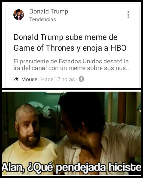 El titulo esta enojado - meme