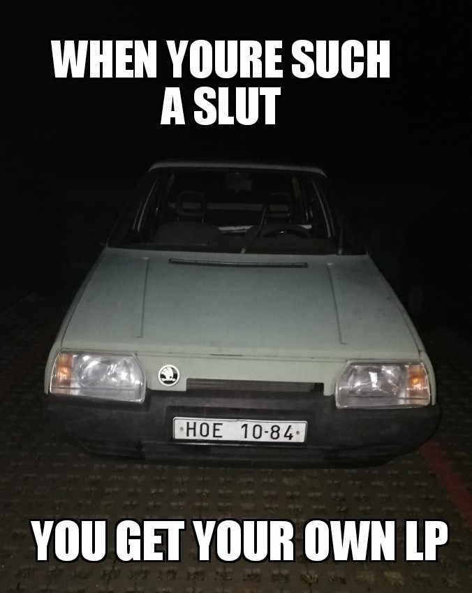 Slut Car ~ - meme