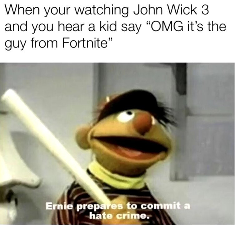 Ernie the Savior - meme