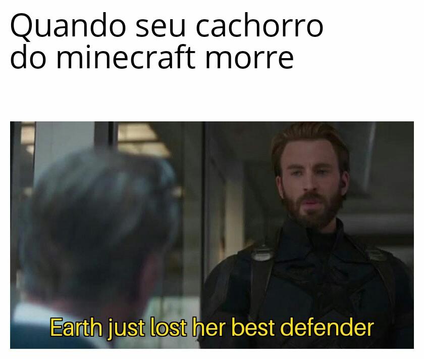 Os doguinhos do mine - meme