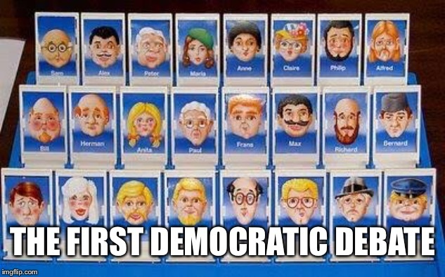 The First Democratic Debate - meme