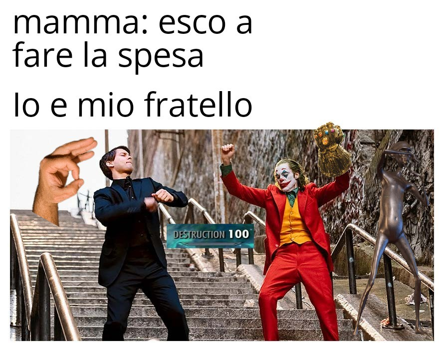 che bordello - meme