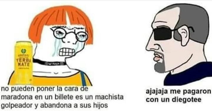 La wea mala - meme