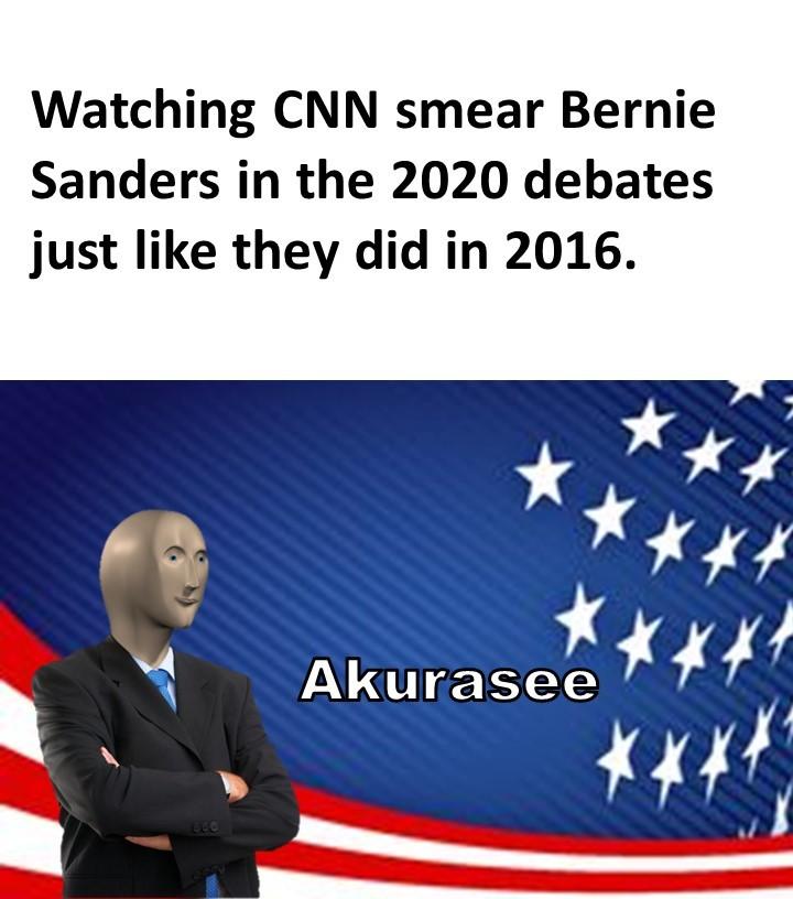 Democratic Primary Debates - meme