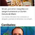 No comas humanos