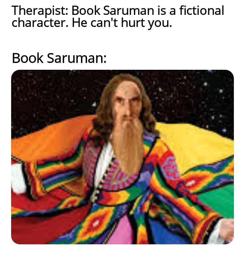 Saruman - meme