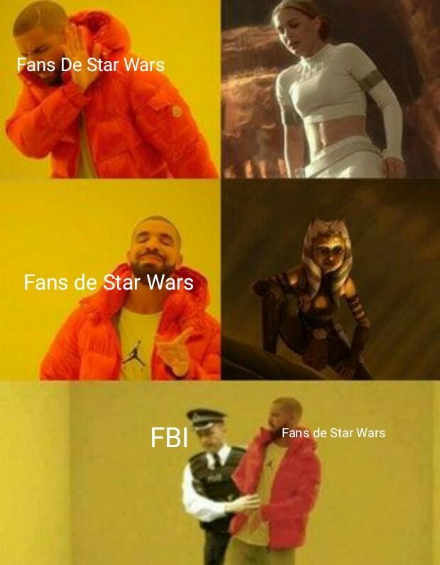 Para fans de star wars - meme