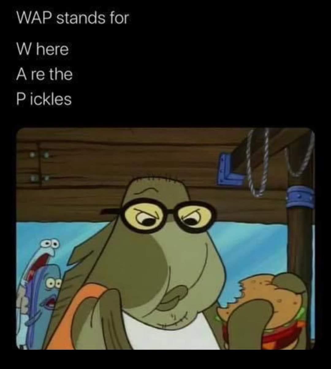 WAP - meme
