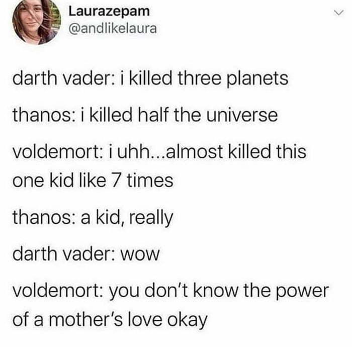 Weakass Voldemort - meme