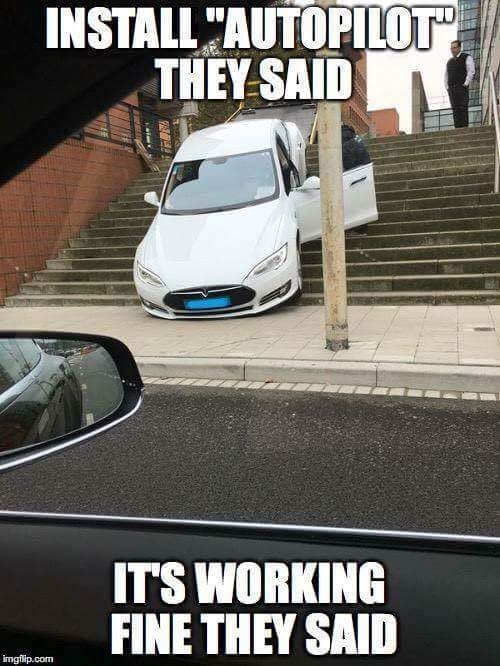 Oh Tesla - meme