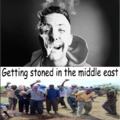 Getting stoned in the middle east