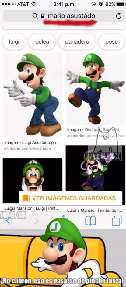 pobre Luigi - meme