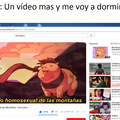 EL CABALLO HOMOSEXUAL DE LAS MONTAÑAS!