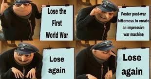 Gru strategy - meme