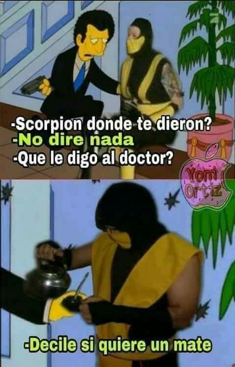 Querés un mate doctor - meme