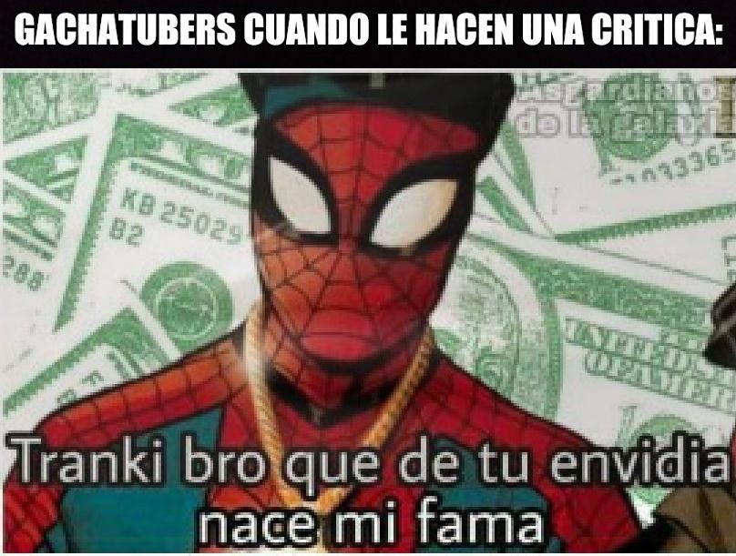 Spiderman facha - meme