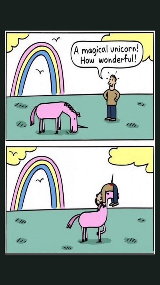 """les licornes .... (dsl si repost parce que je le sens deja le """"REPOST"""") ^^' - meme"""