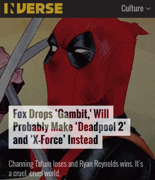 Deadpool sequel(s) - meme