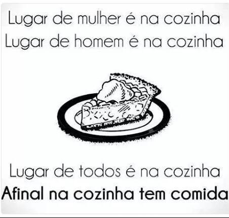Cozinha - meme