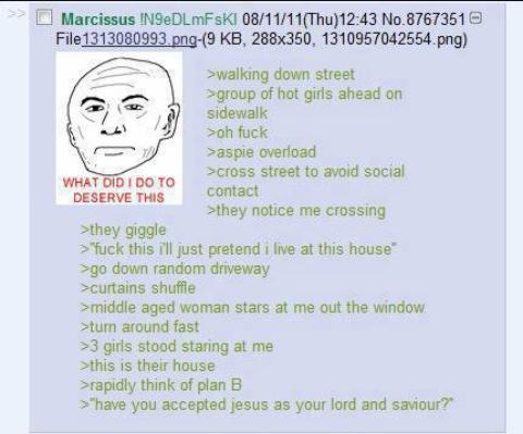 greentext is my lord and savior - meme