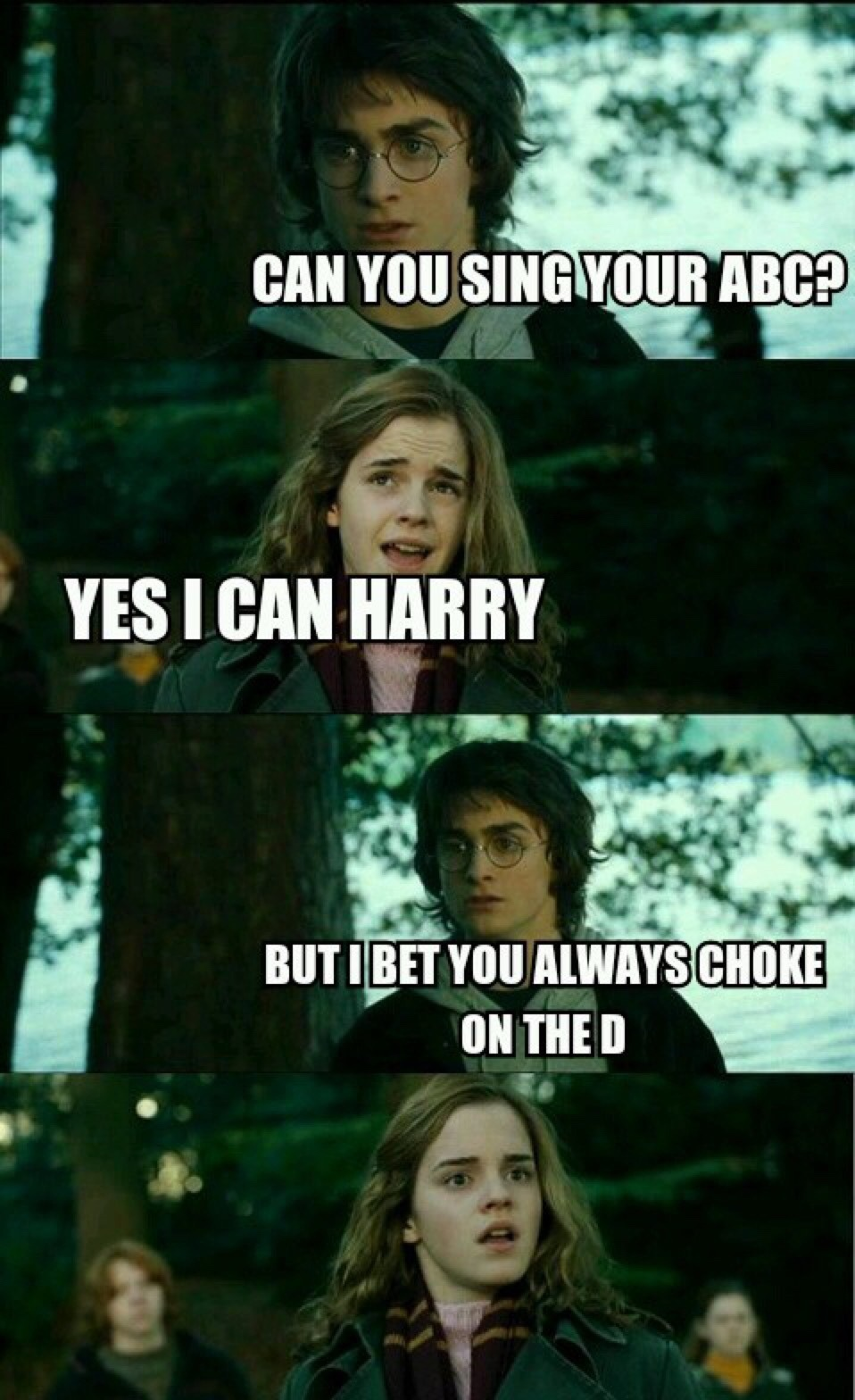 That was a burn Harry - meme