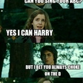 That was a burn Harry