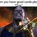 The infinite cards