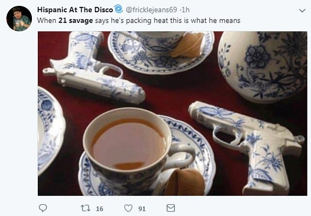 russian tea set - meme