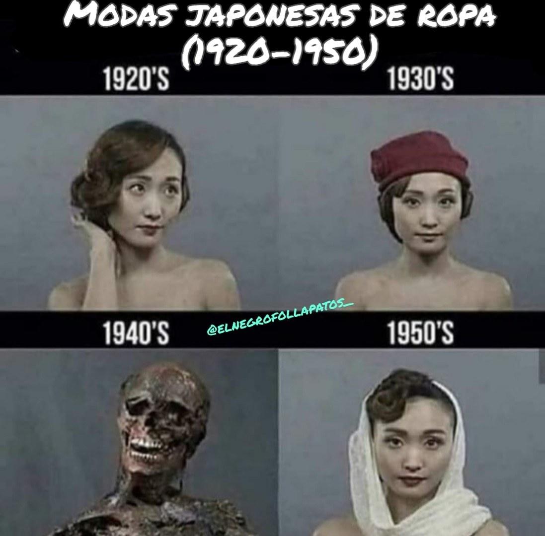 Modas japonesas - meme